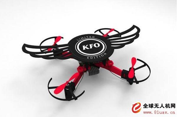 肯德基在印度推出KFO:烤翅包装变成无人机