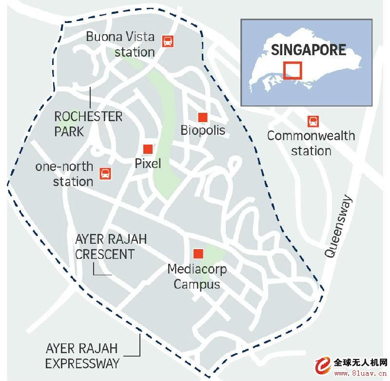 新加坡设立国内首个无人机飞行区