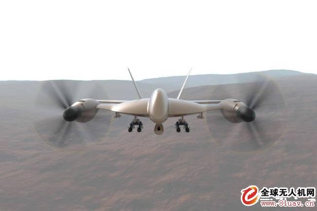 """新型无人机鹰射线""""造型奇特"""