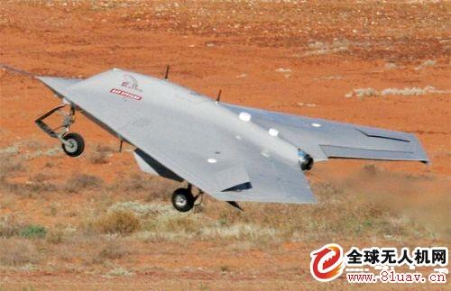 """美国RQ-170""""哨兵""""侦查无人机"""