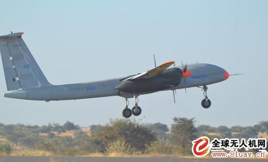 印度国产大型无人机拉斯托姆-2成功试飞