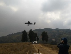 桂林航龙龙雁LY3200垂直起降无人机集气干线管道巡线