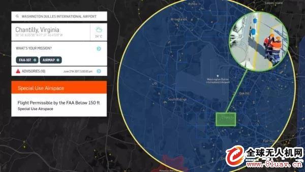 美国无人机实时空域授权范围将扩大至500个机场