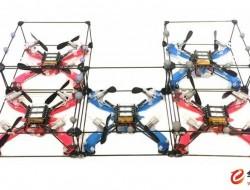模仿蚂蚁筑巢--模组化无人机空中合体,可搭建救灾平台
