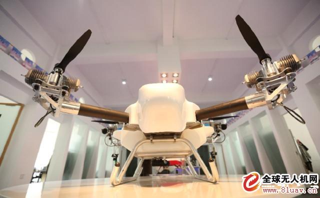 油动调速控制多旋翼无人机