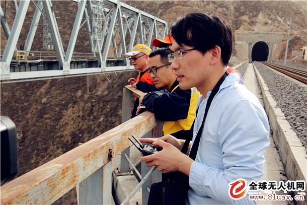无人机助力线桥要害地段立体式检测