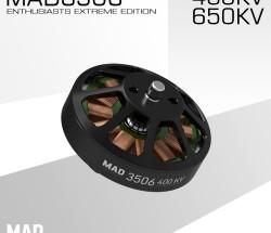 MAD轻量化多轴/旋翼盘式无刷电机 EEE爱好者级别3506