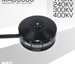 MAD 轻量化多轴/旋翼盘式无刷电机 IPE防水防尘5008