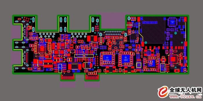 电路板(pcb)组装技术,这种技术可广泛用于如限制空间和重量的无人系统