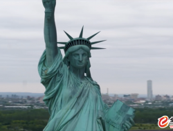 网红 Casey Neistat 又惹争议!河上放飞 DJI Inspire 2 航拍自由女神像