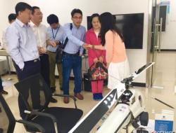 浙江省建德市领导再次莅临铸天科技