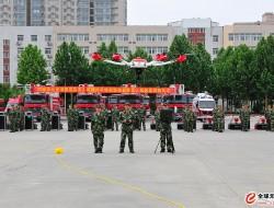 科卫泰无人机列装河南消防部队,空中利器助力消防救援新格局