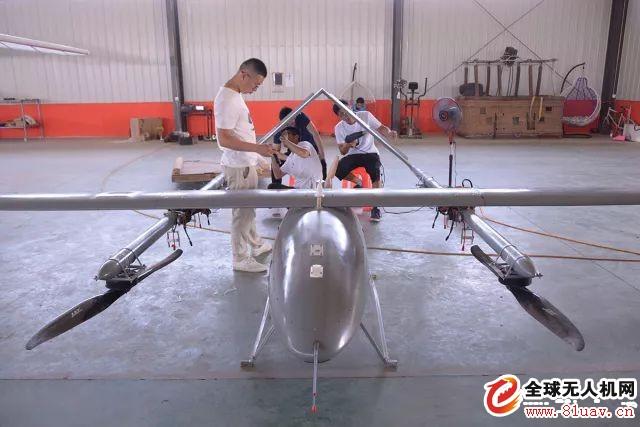 彩虹CH-804D垂直起降无人机首飞圆满成功!