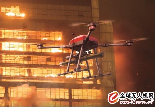 华科尔研制消防无人机FE15