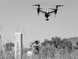 无人机巡检山区天然气管道