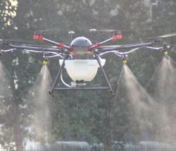 环抱型植保无人机载重10公斤多旋翼