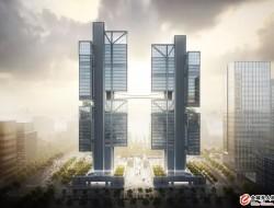 大疆总部新大楼「天空之城」设计效果图曝光