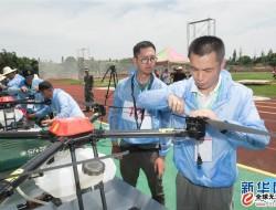 浙江省首届农用无人机操作技能大赛在金华市举行