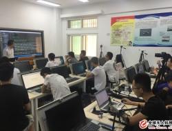 中航恒拓无人机编程技术培训班在北京联合大学开讲