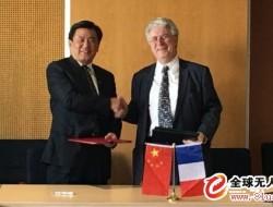 民航局长冯正霖率团访问法国,签署技术合作协议