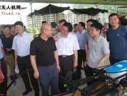 植保无人机获农业农村部领导的领导高度评价