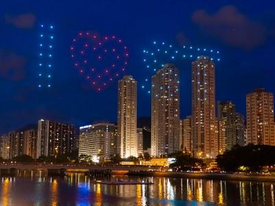 香港无人机编队表演 你或者不知道的二三事