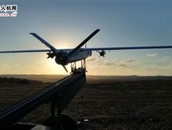 以色列 ThunderB 固定翼人机侦察空投皆可 续航答24 小时