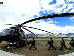 """""""直升机+无人机"""",高原后装保障进入新模式"""