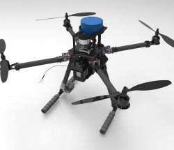 中航恒拓发布激光雷达全向避障教学无人机HT380A