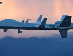 通用原子公司的MQ-9B无人机飞越大西洋