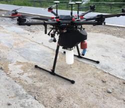 工厂废水总排放口有机磷化合物检测 无人机搭载自动取水装置
