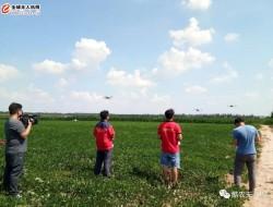 酷农植保无人机作业演示上了中央7套农业专栏