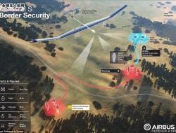 空客推出新型太阳能无人机Zephyr可在空中停留45