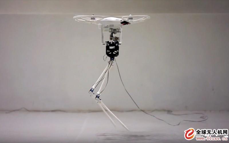 无人机也能具有纤细细长的双腿。(图/翻摄自 IEEE Spectrum)