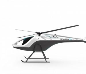 德可达TC-1250交叉式双旋翼无人直升机