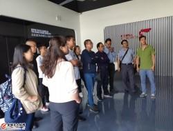 甘肃省用户考察团一行参观飞马机器人