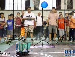 青少年人工智能教育(无人机)成果展示在天津和平区举行