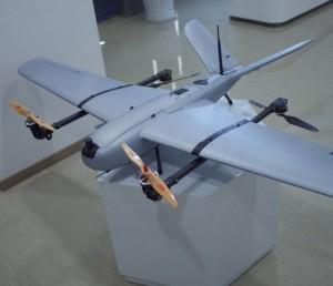 倾转翼垂直起降固定翼无人机SV180续航120分载重1kg