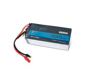 荣耀天翃植保无人机锂电池16000mah 15c 6S