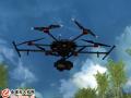 六旋翼无人机在林业调查中的应用虚拟仿真软件