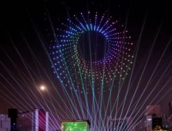 千架无人机编队表演将在四川眉山首秀光影盛宴
