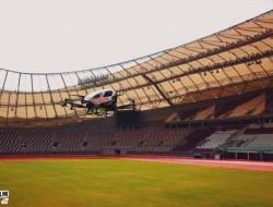 亿航216无人机飞入卡塔尔,联手卡塔尔电信全面演示5G未来