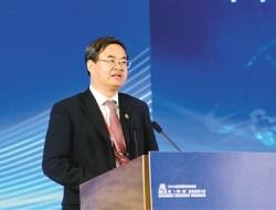 访中国电子学会副理事长、北京理工大学校长、中国工程院院士张军