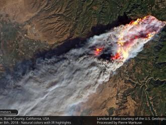 史上最大型! 16 无人机队空中测绘 收集加州