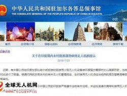 中国公民在印度使用无人机被羁押 使馆吁遵守规定