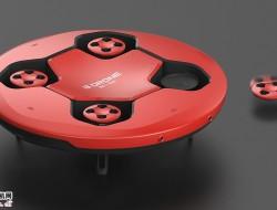 B Drone全3D打印无人机
