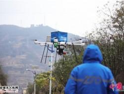 中通油电混合无人机完成首飞