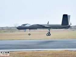 翼龙I-D无人机首飞 全复材多用途