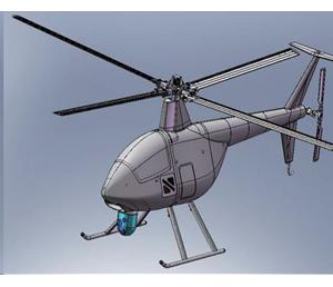 SUH-200飞虎无人直升机