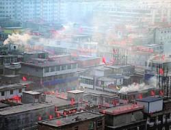 汽车/无人机大气移动监测——城中村散煤燃烧对